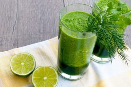 homemade green juice recipe lime